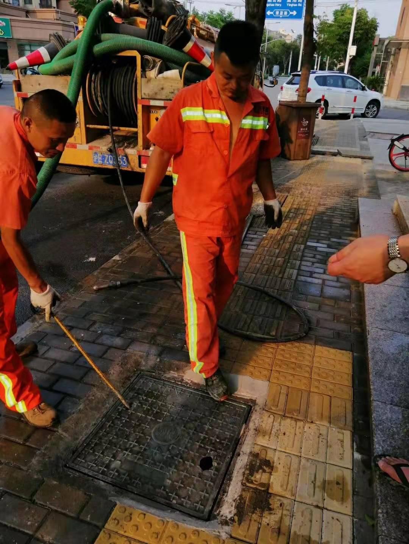 上海市专业油污管道疏通清洗