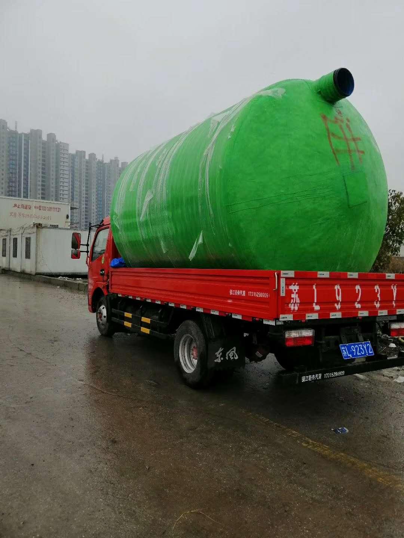 上海玻璃钢化粪池清洗安装