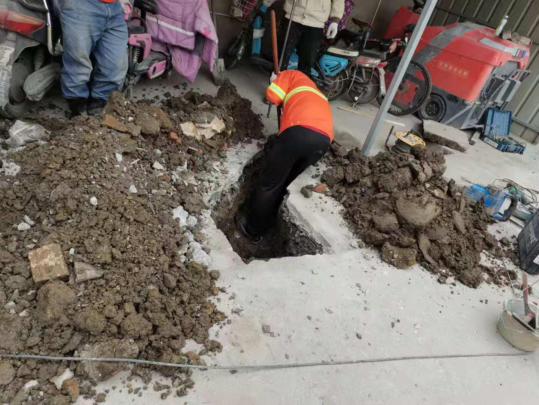 上海市浦东新区金港路管道开挖新排工期已完工